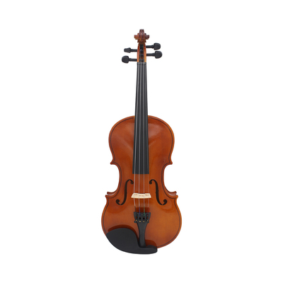 1/2 natural color violin basswood