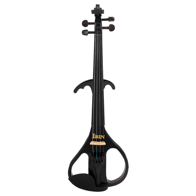 4/4 electro-acoustic violin double angle black