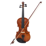 3/4 natural color violin basswood
